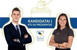 KTU SA prezidentu tapti mėgins du kandidatai