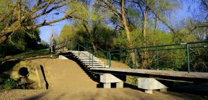 Savivaldybė išgirdo studentus – įvyko Gričiupio parko tiltelio rekonstrukcija